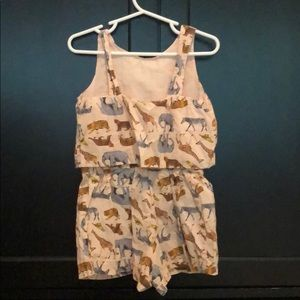 GAP Dresses - Animal romper